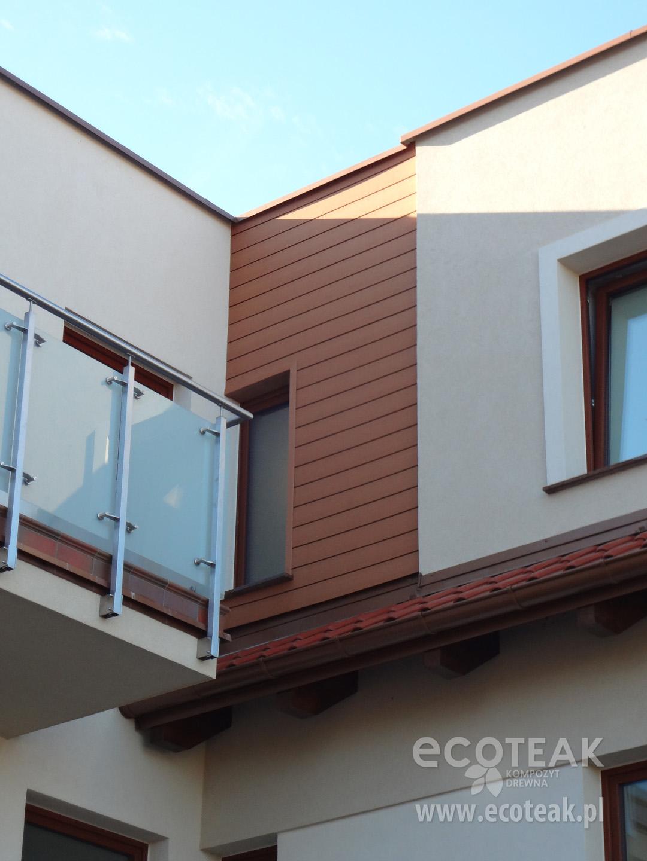 Elewacja z kompozytów drewna EcoTeak